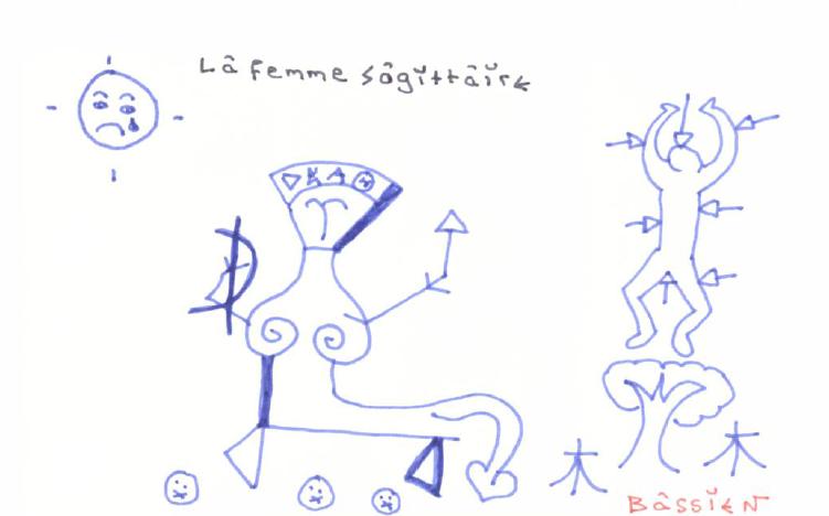 La femme sagittaire