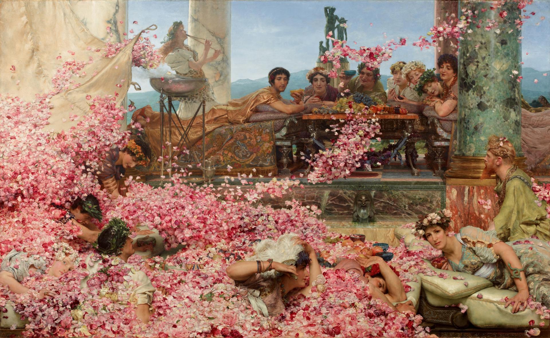 Les roses dheliogabale alma tadama2