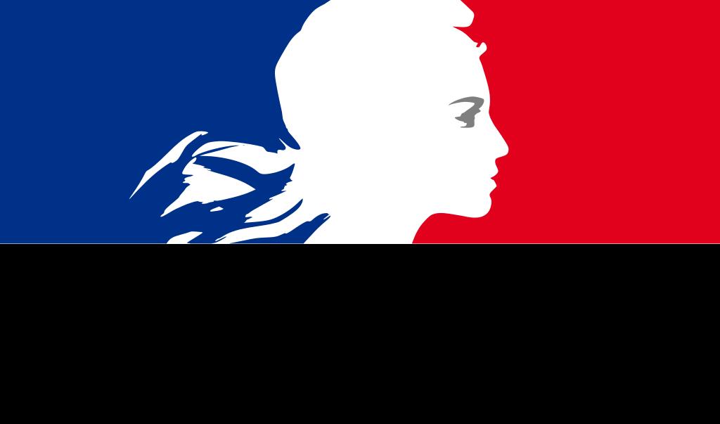 Logo de la republique francaise 1999 svg